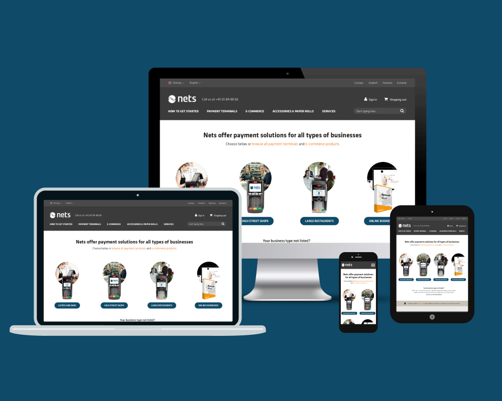 Nets Ecommerce Project Featured-image