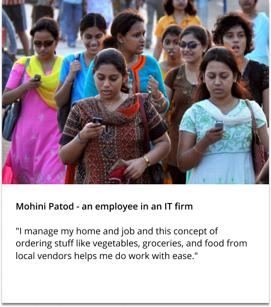 Mohini – an It employee