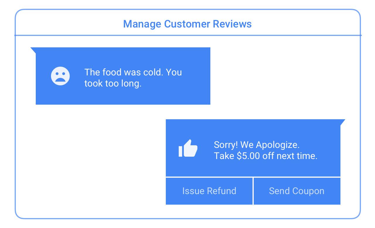 Manager insights customer feedback