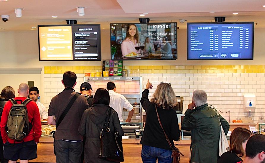 Google-Kudos-Chromecast-inrestaurant