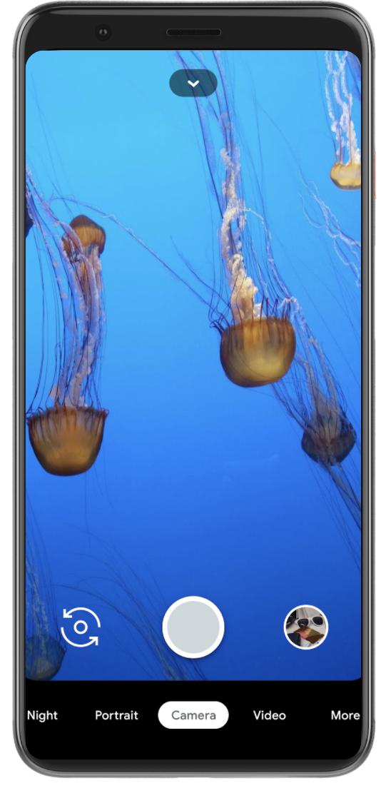 Pixel 4 Immersive UI