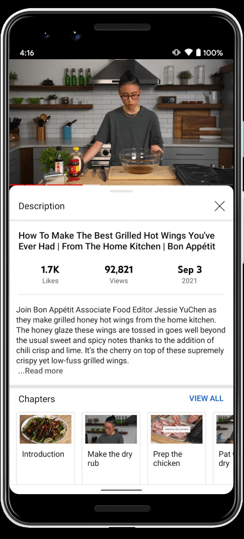 YouTube App UX 1