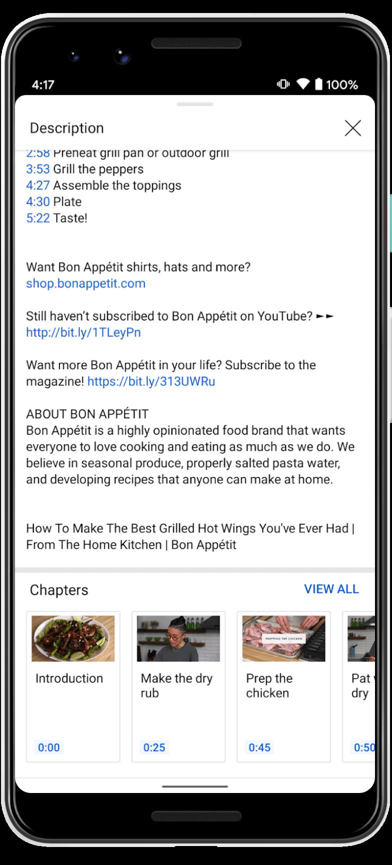 YouTube App UX 3